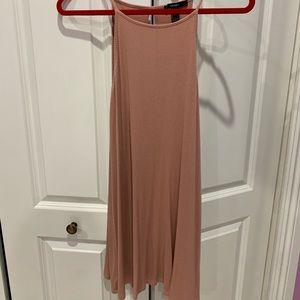 Blush color dress